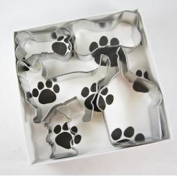 Corgi Happy Barkday Cookie Cutter Set + a Letter!