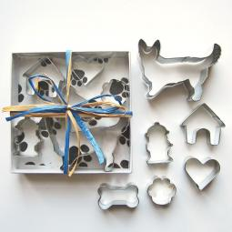 Corgi Six Piece Cookie Cutter Set