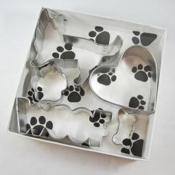 Corgi Woof Five Piece Cookie Cutter Set + a Letter!