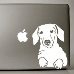 Dachshund Large Decal