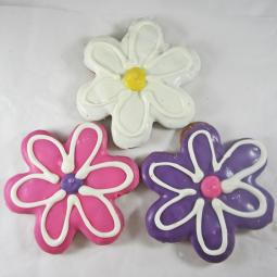 Medium Daisy Flower Dog Treat