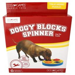 Kyjen Doggy Blocks Spinner Puzzle