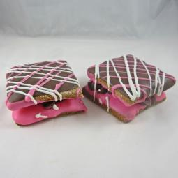 Valentine Double Decker Signature Dog Treat