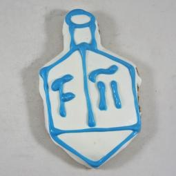 Medium Hanukkah Dreidel Dog Treat