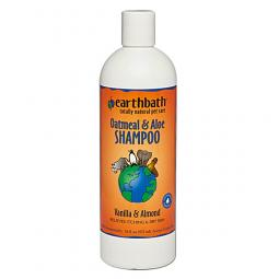 Earthbath Oatmeal and Aloe Shampoo Vanilla and Almond 16oz