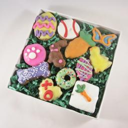 12 Piece Easter Dog Treat Assortment