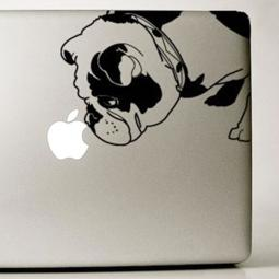 English Bulldog Large Decal