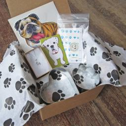 Bulldog Lover Mini Gift Box