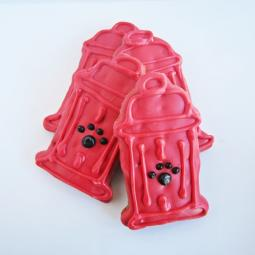 Large Fire Hydrant Dog Treat