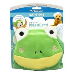 Four Paws Frog Hooded Bath Towel for Dogs
