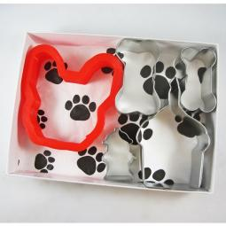 French Bulldog Happy Barkday Cookie Cutter Set + a Letter!
