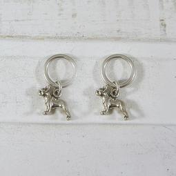 French Bulldog Stitch Markers
