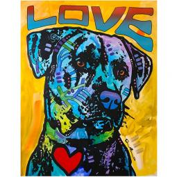 Gentle Giant Indelible Dog Dean Russo Print
