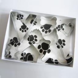 German Shepherd Six Piece Cookie Cutter Set + a Letter!