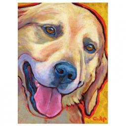 Golden Retriever Light Print