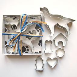Golden Retriever Six Piece Cookie Cutter Set + a Letter!
