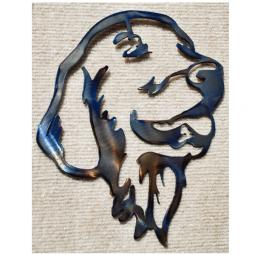 Golden Retriever Metal Wall Hanging - Large