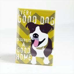 Pit Bull Good Dog Pocket Mirror