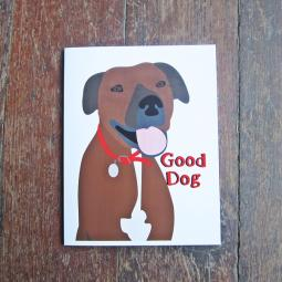Farfel Good Dog Note Cards