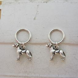 Great Dane Stitch Markers