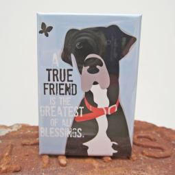 Great Dane True Friend Art Magnet