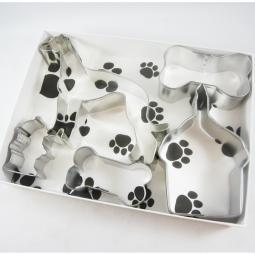 Greyhound Happy Barkday Cookie Cutter Set + a Letter!