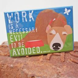 Greyhound Work Art Magnet