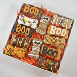 Halloween Doggie Dozen Mini Bones and Mummies