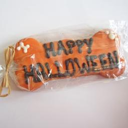 XL Happy Halloween Dog Bone Treat