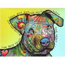 Heart Felt Indelible Dog Dean Russo Print