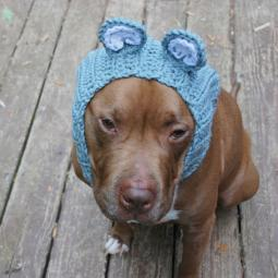 Grey Hippo Crochet Snood