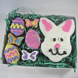 Hoppin' Down the Bunny Trail Dog Treat Set
