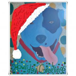 Large Howliday Cards Set of 8