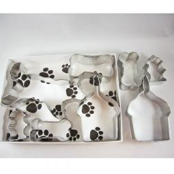 Husky Happy Barkday Cookie Cutter Set + a Letter!