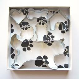 Husky Six Piece Cookie Cutter Set + a Letter!
