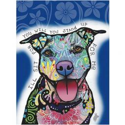 I'll Sit For You Indelible Dog Dean Russo Print