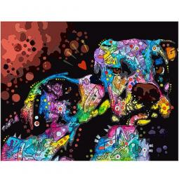 It's Just Puppy Love Indelible Dog Dean Russo Print