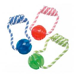 JW Megalast Ball and Rope Tug