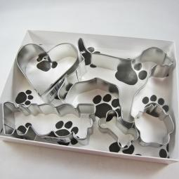 Labrador Woof Five Piece Cookie Cutter Set + a Letter!