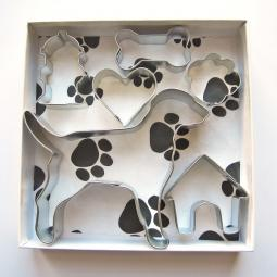 Labrador Six Piece Cookie Cutter Set + a Letter!
