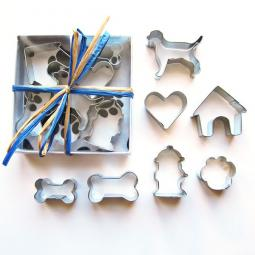 Seven Piece Mini Labrador Cookie Cutter Set