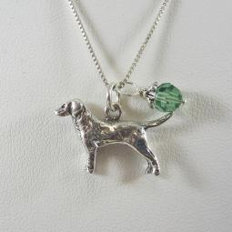 Large Dog Charm Necklaces