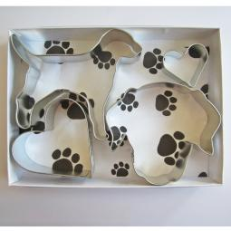 Labrador Love Four Piece Cookie Cutter Set
