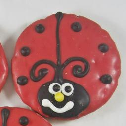 Large Ladybug Dog Treat