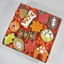12-Piece Fall Dog Treat Assortment