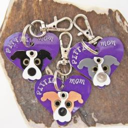 Pittie Mom Limited Edition Keychain