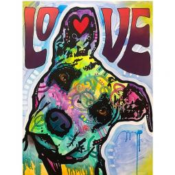 Love and Trust Indelible Dog Dean Russo Print