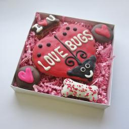 Love Bugs Valentine Dog Treat Assortment