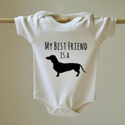 My Best Friend Is a Dachshund Onesie