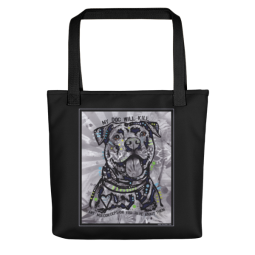 My Dog Indelible Dog Tote Bag